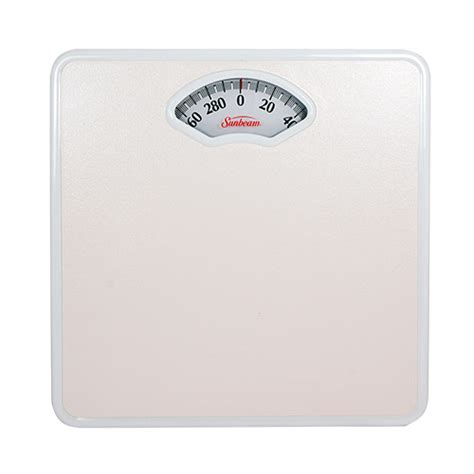 sunbeam s47d 01 easy read analog precision bath scale