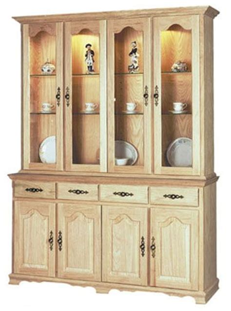 unfinished corner china cabinet woodworking projects plans