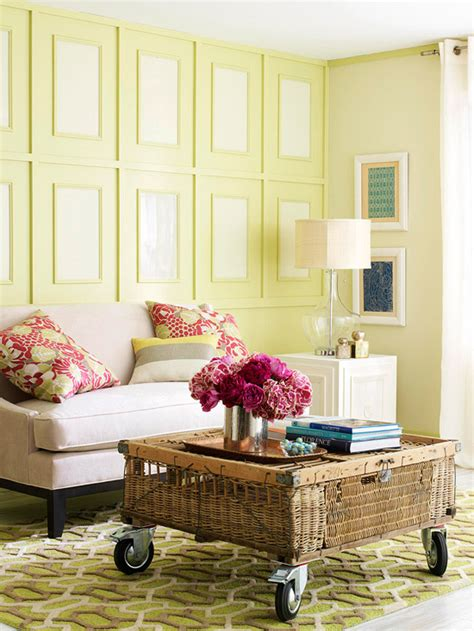 Summer Decorating Ideas For Your Living Room White Glam Sancas De Parede Wall Moldings