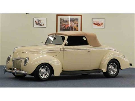 ford cabriolet cars for sale 1939 ford cabriolet for sale classiccars cc 777028