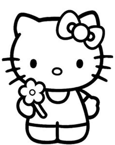 Boneka Per Tsum Tsum Tumpuk hello with flower childrens individual wall stickers