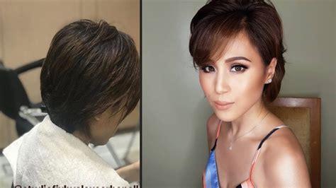 toni gonzagas hairstyles toni gonzaga shocked netizens with her new haircut youtube