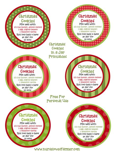 7 best images of christmas mason jar printable labels