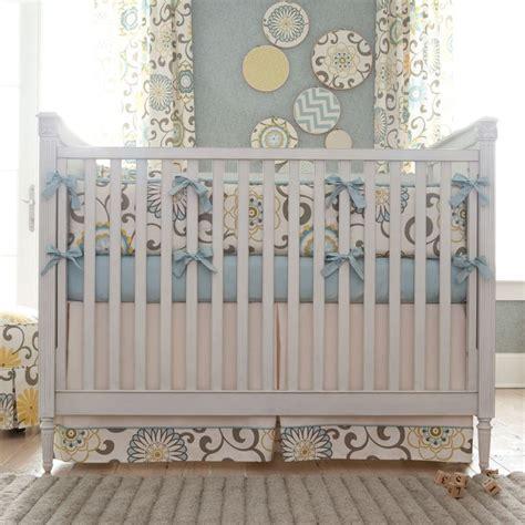 Pom Pom Crib Bedding Spa Pom Pon Play Baby Crib Bedding Pom Pon Plays And Blue And