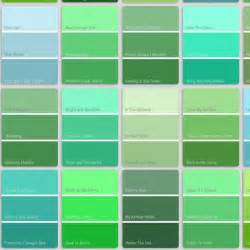 green colors list shade blue to green color search website
