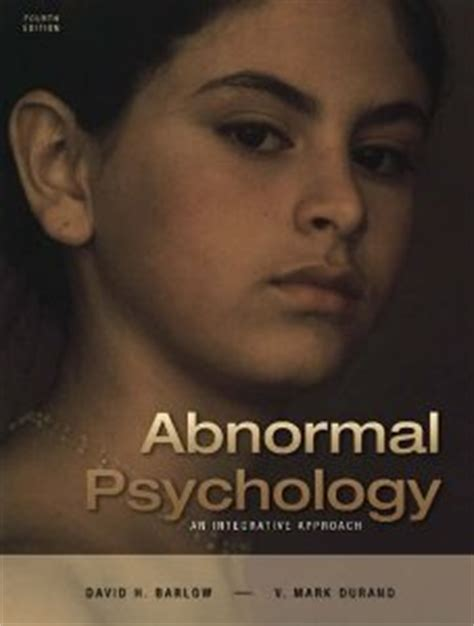 abnormal psychology books opinions on abnormal psychology