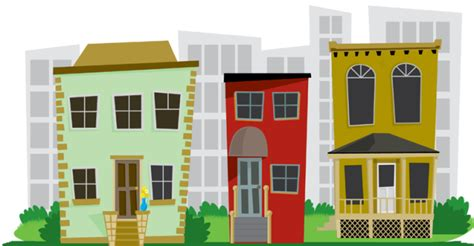city neighborhood clipart clipart suggest