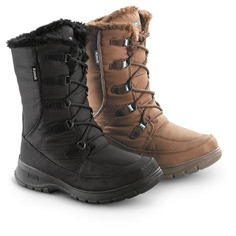 womans boots s kamik 174 waterproof boots 207453 winter