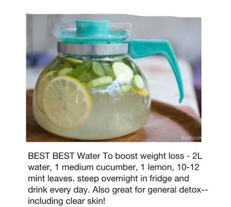 Detox Water For Weight Loss In Winter by 17 Best Images About Weight Loss On Health