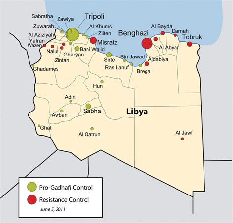 libya map with cities libya map cities