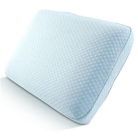 pure comfort gel memory foam pillow tempure rest cool comfort ventilated memory foam gel