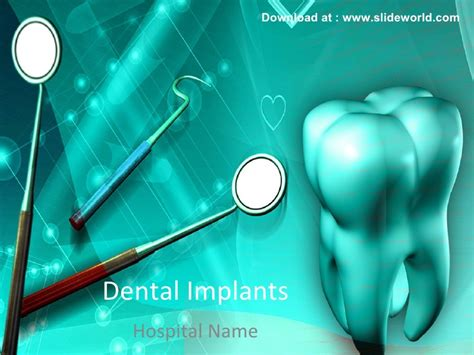 Dental Powerpoint Ppt Templates Free Animated Dental Powerpoint Templates