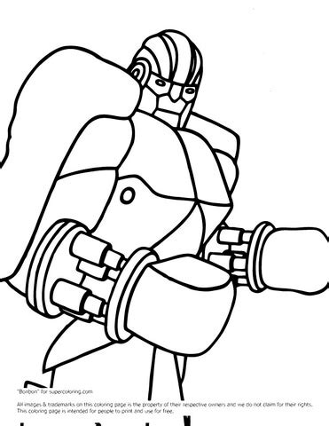 real steel coloring pages coloring pages