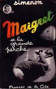 libro maigret et la grande notice bibliographique