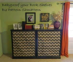 baby proofing bookshelves pattern shmattern baby proofing a book shelf tutorial