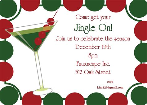 christmas cocktail party 100 christmas cocktail party invitation wording