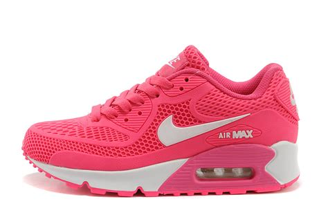 2014 nike air max 90 womens shoes pink whote