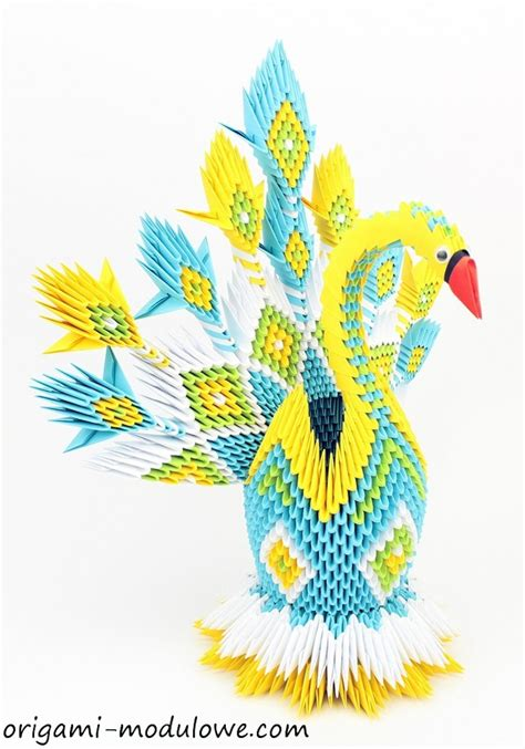 Origami Techniques - intricate paper animals crafted with elaborate origami
