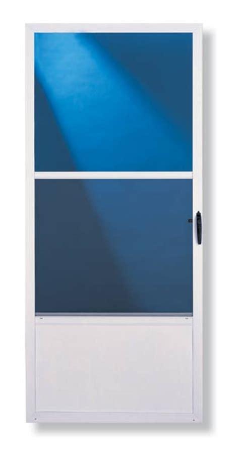 Comfort Bilt Door by Comfort Bilt C0108012 36 In Comfort Bilt Self Storing Mill Finish Door At Sutherlands