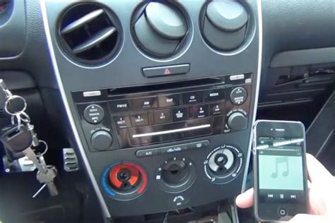 2004 mazda 6 aux input bluetooth and iphone ipod aux kits for mazda 6 2006 2008