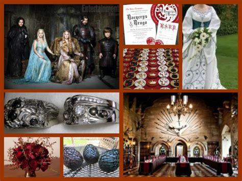 game thrones wedding theme wedding got theme