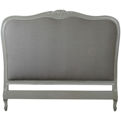 bed head board louis french upholstered headboard crown french furniture