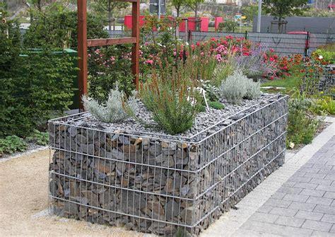 bilder gabionen bepflanzte gabionen flache gartenmauer 246 komauer