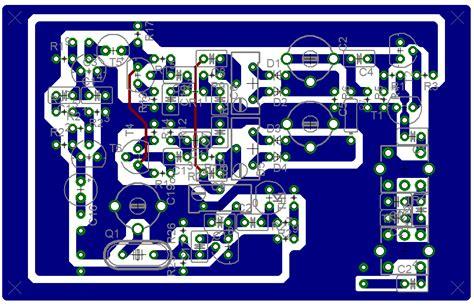 Pcb Layout Design House | single band hf ssb cw rx no4 pcb layout