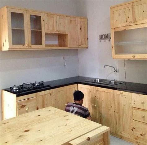 jual lemari dapur kitchen set full kayu jati belanda