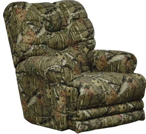 duck dynasty recliner duck dynasty big falls power lay flat recliner in mossy