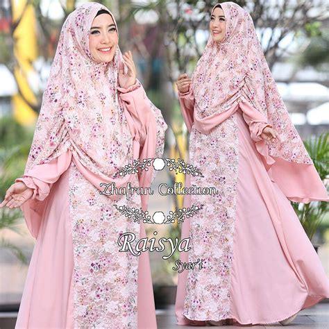 Gamis Basalamah By Zhafran Set Khimar Plus Dress raisya syari by zhafran jual busana muslim
