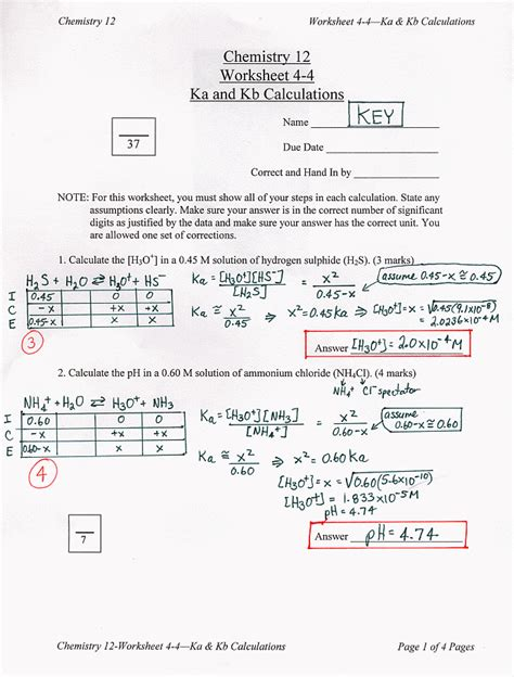 Conjugate Acid Base Pairs Worksheet Answers by Pin Conjugate Acidbase Pair On