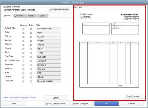 Quickbooks Purchase Order Templates Quickbooks Order Form Template 8 Apparel Order Form Quickbooks Edit Purchase Order Template