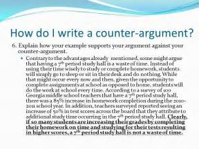 Sample Argumentative Essay With Counter Argument Counter Argument Essay Sample Clipart