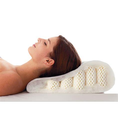 les oreillers oreiller pour cervicales oreiller ergonomique sp cial