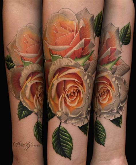 famous rose tattoos the world roses by phil garcia inkppl magazine