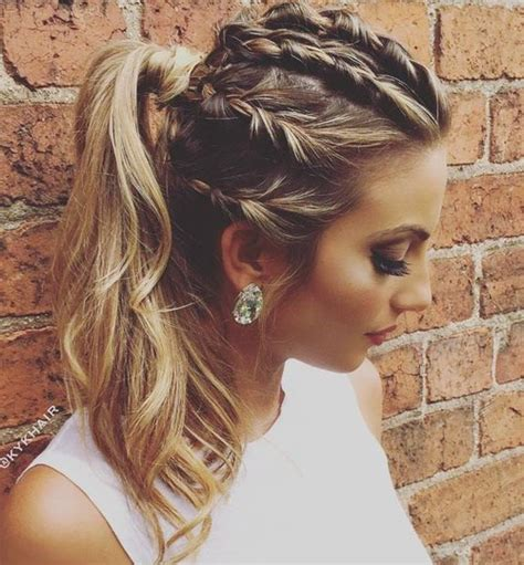 Braid And Ponytail Hairstyles by 30 Fantastic Braid Ponytails