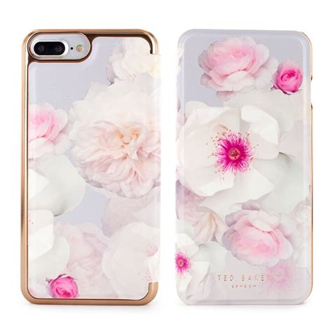 Ted Baker 12 For Iphone 6 ted baker eleasse mirror folio for iphone 7 plus 6