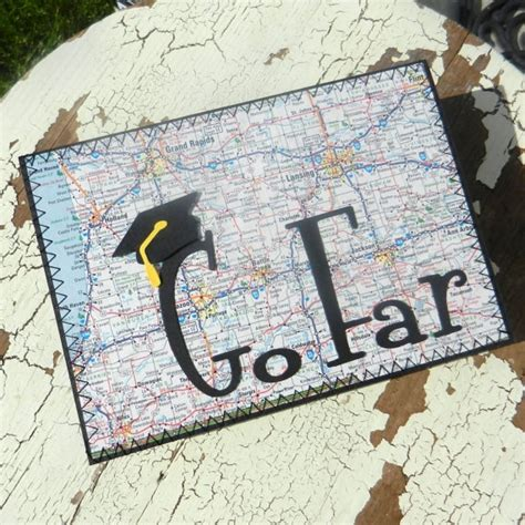 Graduation Handmade Cards - handmade graduation greeting card go far by