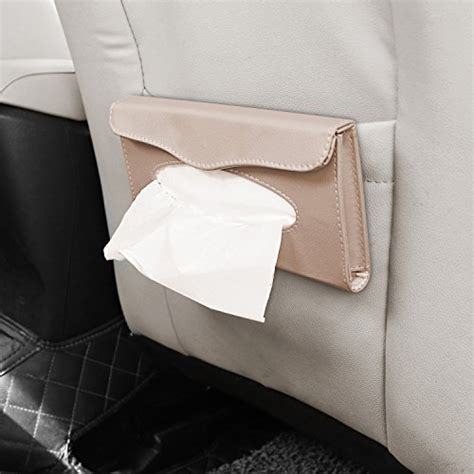 Tempat Tissu Unik Desk L Napkin chitronic car sun visor napkin pu leather box tissue cover holder beige buy in uae