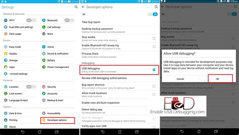 android usb settings enable usb debugging mode on android step by step guide enable usb debugging