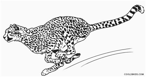 cheetah to coloring page printable cheetah coloring pages for kids cool2bkids