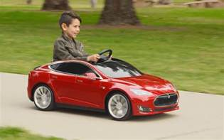 Tesla Electric Childs Car Tesla Model S For From Radio Flyer