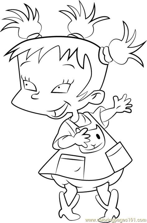 rugrats coloring pages kimi finster coloring page free rugrats coloring pages