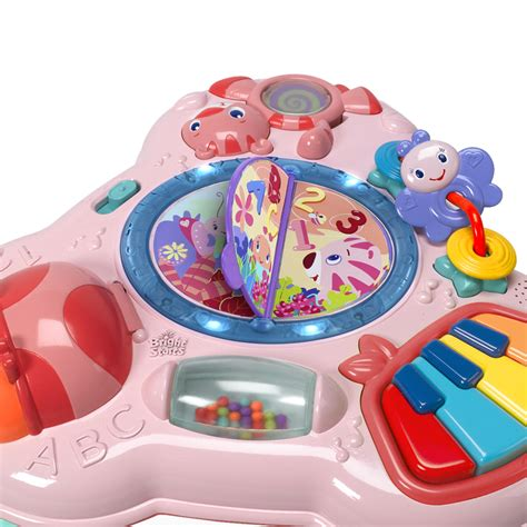 Bright Starts Activity Table by Bright Starts Pretty In Pink Musical Learning Table At 163 28 49