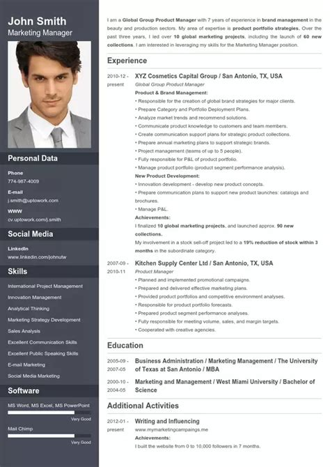 Resume Template Maker by What Is The Best Website To Make A Cv Quora
