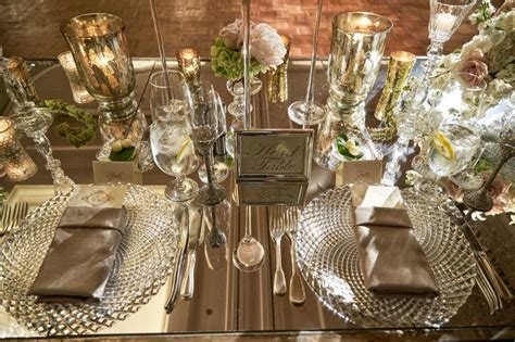 Home Decor Design Trends 2015 by Reception D 233 Cor Photos Mirror Top Head Table With Sign
