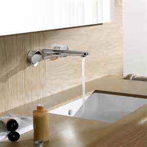 High End Kitchen Faucets simple wall mount faucet by dornbracht