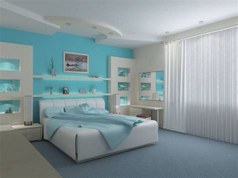 How To Decorate A Blue And White Bedroom by Teal Blue White Bedroom And Stunning Wall Paneling 29