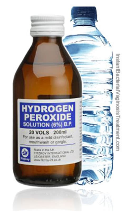 Hydrogen Peroxide Smell Detox Symptom by January 17 2012 Yeast Infection Tips